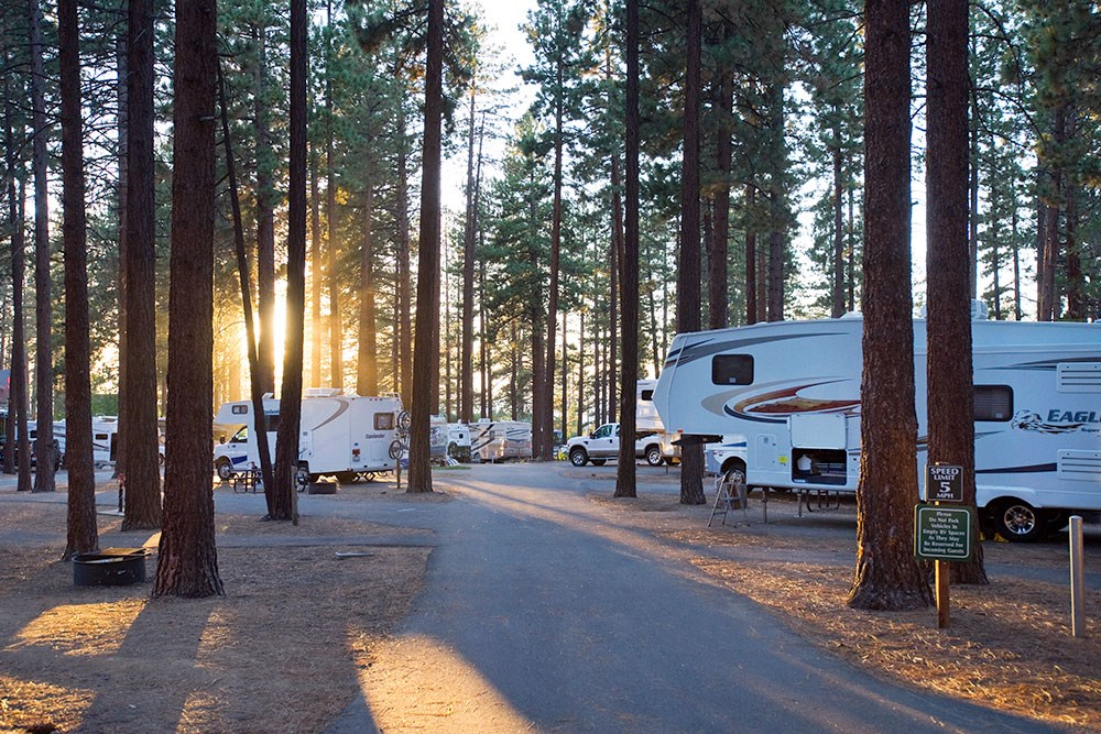 Campgrounds In California