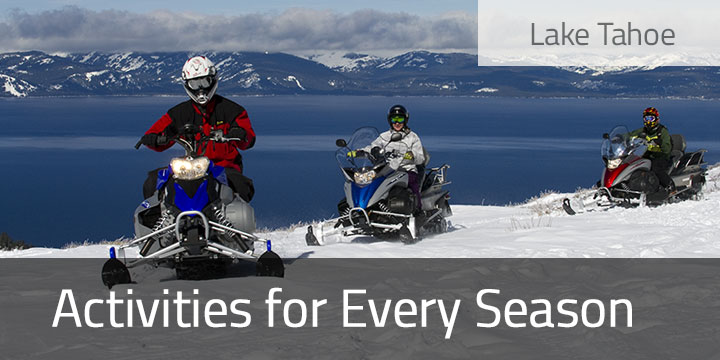 Lake Tahoe Activities for Every Season