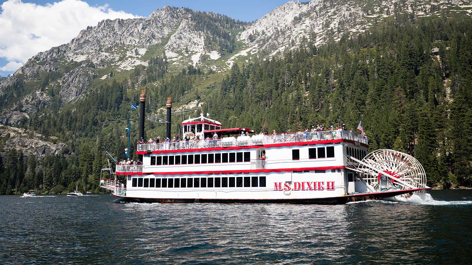 Daytime Cruise South Lake Tahoe Zephyr Cove Resort Tahoe