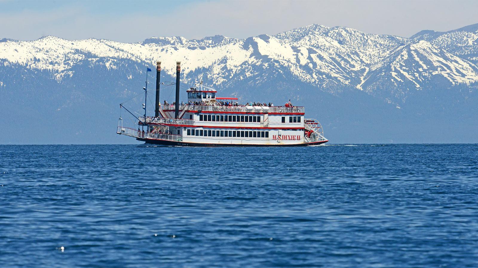 Daytime Cruise South Lake Tahoe Zephyr Cove Resort