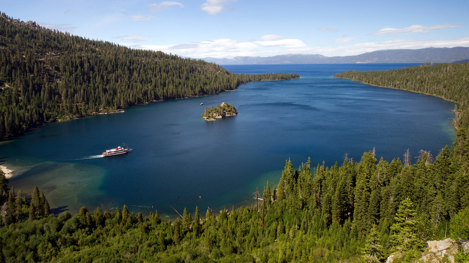 Lake Tahoe Cruises aboard the M.S. Dixie II